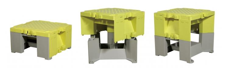 アルインコ_ステップキューブ(樹脂製作業台)